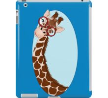 Giraffe Here's Looking At You iPad Case/Skin