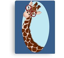 Giraffe Here's Looking At You Canvas Print