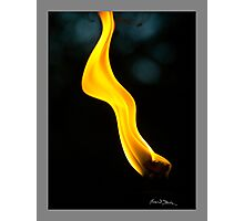 Yellow Ribbon Photographic Print