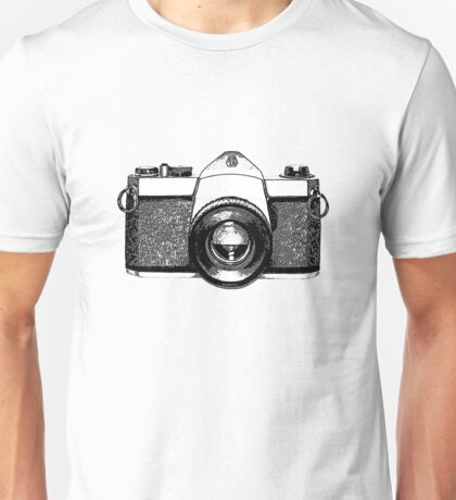 35mm Camera Unisex T-Shirt