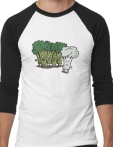 I Am Cauliflower Men's Baseball ¾ T-Shirt