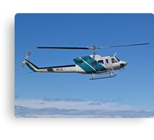 Bell 212 Twin  Helicopter Canvas Print
