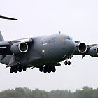 C-17 Globemaster by Mark  Spowart