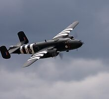B-25 Mitchell Bomber by Mark  Spowart