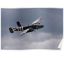 B-25 Mitchell Bomber Poster