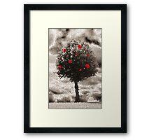 Rose Tree Framed Print