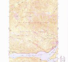 USGS Topo Map Washington State WA Rimrock Lake 243461 1967 24000 by wetdryvac