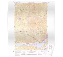 USGS Topo Map Washington State WA Rimrock Lake 243461 1967 24000 Poster