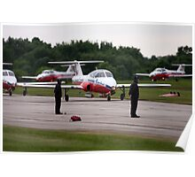 Canadian Armed Forces Snowbirds Poster