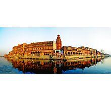 India, Sri Vrindavan Dham. Keshi ghat! Photographic Print