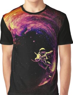 Space Surfing Graphic T-Shirt