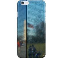 Unforgotten Memories- Vietnam Wall Memorial iPhone Case/Skin