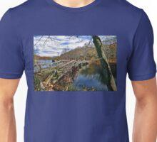 Troubled Bridge Over Still Waters Unisex T-Shirt