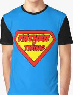 Superdad father of twins Graphic T-Shirt