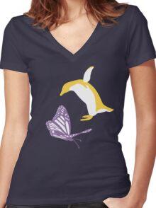 Free! - #TeamReiGisa Women's Fitted V-Neck T-Shirt