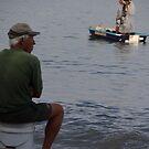 Fishermen - Pescadores by Bernhard Matejka