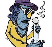Zoot Smoking Weed by Brett Gilbert
