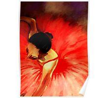 La Ballerine Rouge dans le Theatre  Poster