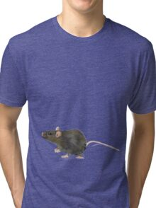 Giant Rat by Anne Winkler Tri-blend T-Shirt