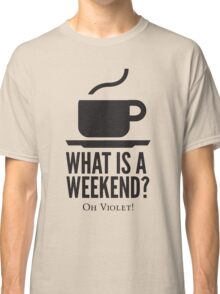 Weekend in Downton Abbey Classic T-Shirt