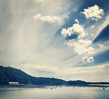 Welsh Seascape 1 (Bangor) by blackbush
