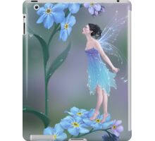 Forget-Me-Not Flower Fairy iPad Case/Skin