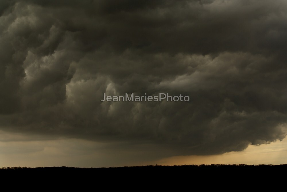 Storm Clouds by Jean Martin