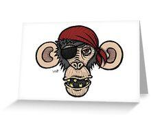 Primateyyyy Greeting Card