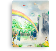 Misadventures in Dreamland Canvas Print