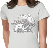 The White Rabbit Rush (T-shirt) Womens Fitted T-Shirt