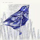 Bird in the Marsh by paulapaints