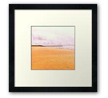 Freshwater Beach Framed Print