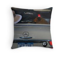 Is it a right turn or left turn? Throw Pillow