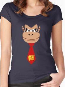 Monkey Kong Women's Fitted Scoop T-Shirt