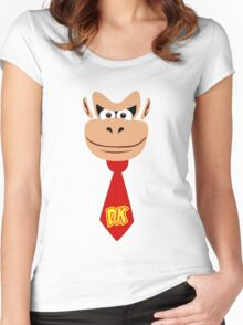 Monkey Kong Women's Fitted Scoop T-Shirt