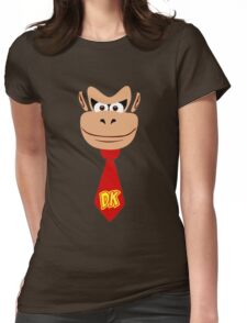 Monkey Kong Womens Fitted T-Shirt