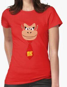 Monkey Kong Womens Fitted T-Shirt