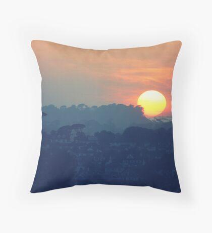 Falmouth Sun Throw Pillow