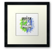 Wizard House Divided {Sly & Smart} Framed Print