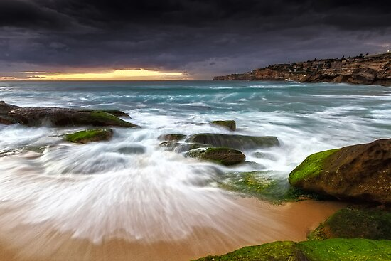 Swirls on the Rock by Mark  Lucey