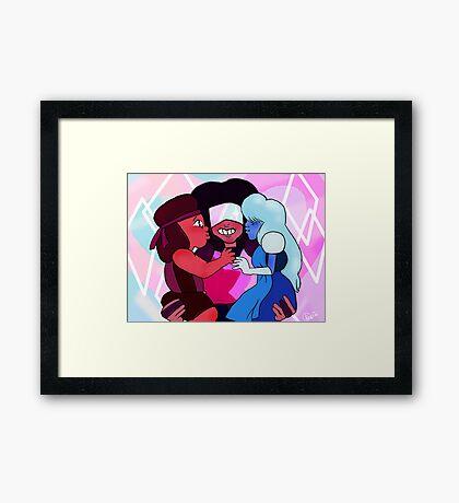 Keystone Motel Framed Print