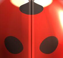 Ladybug beetle Sticker