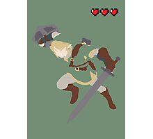 Zelda - Link Photographic Print