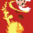 Mario - Fire Flower Mario by DerfGnay