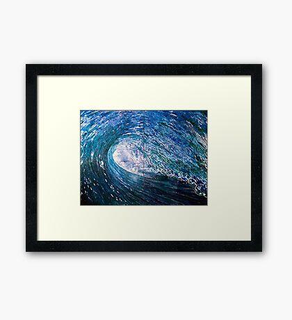 Azurite Framed Print