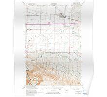 USGS Topo Map Washington State WA Kittitas 241783 1953 24000 Poster
