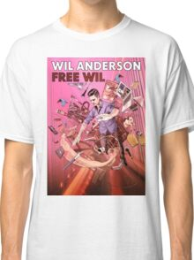 Wil Anderson - Free Wil (poster) Classic T-Shirt