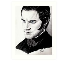 "Richard Armitage ""so, you are going..."" Art Print"