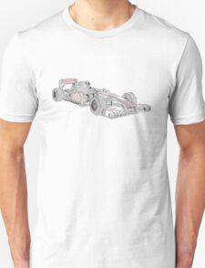 McLaren 2012 F1 Car T-Shirt