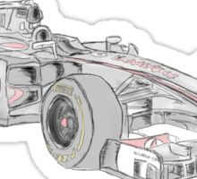 McLaren 2012 F1 Car Sticker